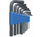 10 piece L-shape metric hex-key set